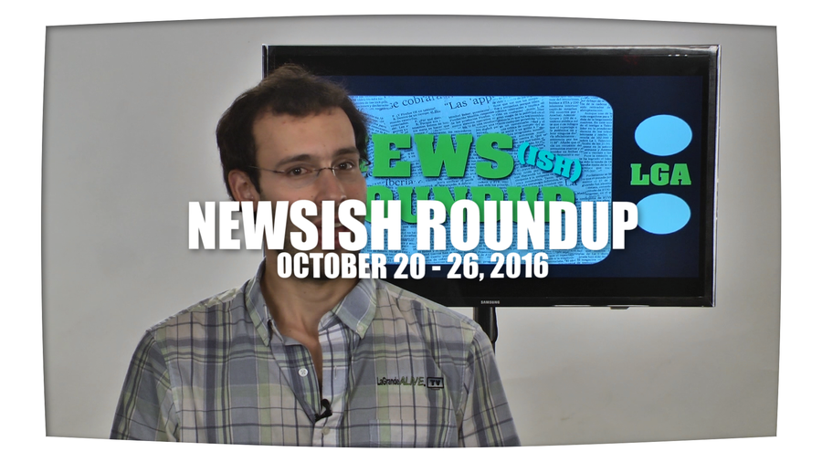 Weekly Newsish Roundup October 20, 2016