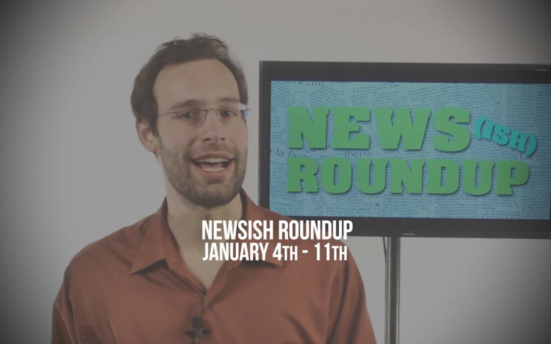 Weekly Newsish Roundup January 5, 2017