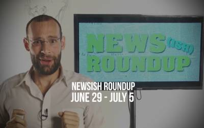 WILL'S HEAD IS ON FIRE BOY SCOUTS SAVE THE DAY!  Weekly Newsish Roundup: June 29-July 5, 2017