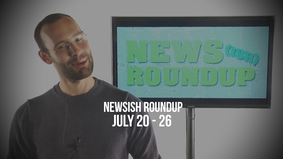 A CIRCUS COMES TO TOWN! – Weekly Newsish Roundup July 20-26, 2017
