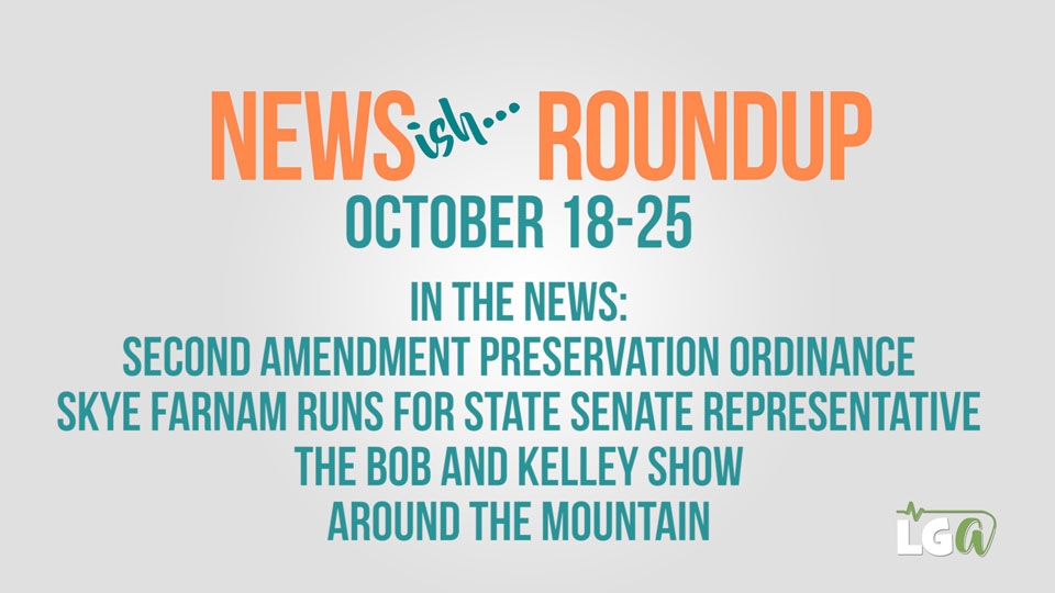 Weekly Newsish Roundup LIVE! October 18-26