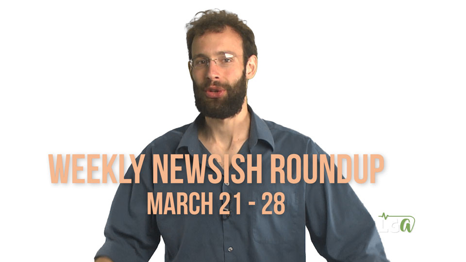 Free Frisbee and One Hell of A District Attorney – Weekly Newsish Roundup